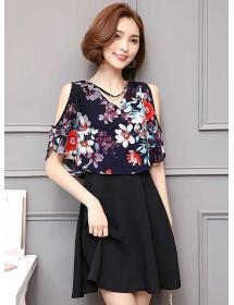 dress korea D4464