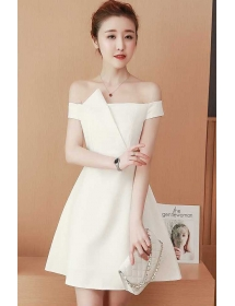 Dress Pesta Korea D5054 Moro Fashion