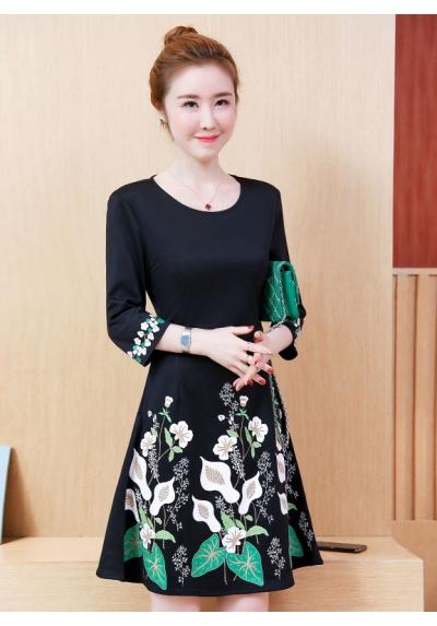 dress korea D5676