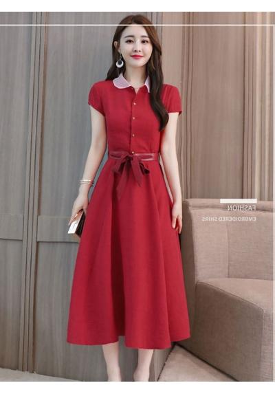 Midi Dress Korea D5699