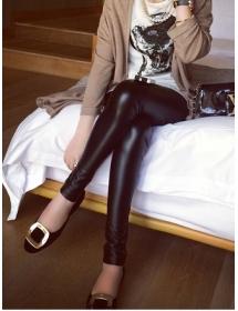 Celana Legging Kulit T1240 Moro Fashion
