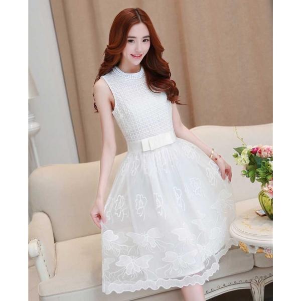 Midi Dress Korea D2274 Moro Fashion