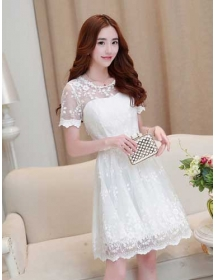 Dress Pesta Korea D2439 Moro Fashion