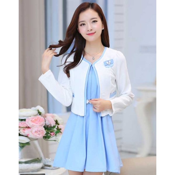 Dress Wanita Korea D2465 Moro Fashion