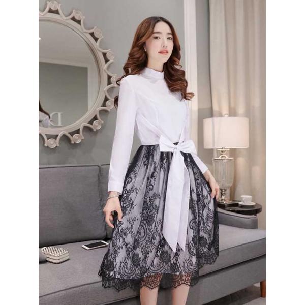 Midi Dress Korea D2997 Moro Fashion