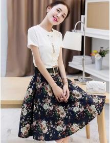 setelan wanita korea D3161