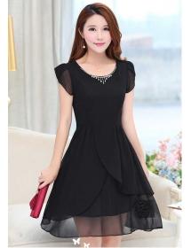 dress korea D2838