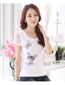 blouse wanita import T3053