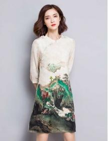 dress korea D3181