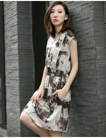 dress wanita import D3182