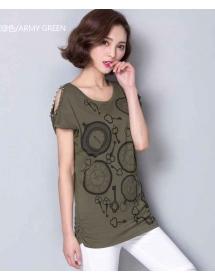 blouse wanita import T3074