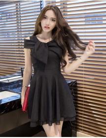 dress wanita korea D3186