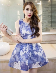 dress korea D3187