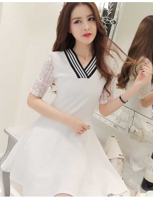 dress korea D3192
