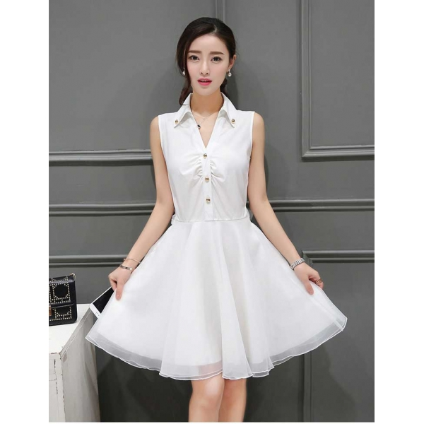 Dress Wanita Korea D3203 Moro Fashion