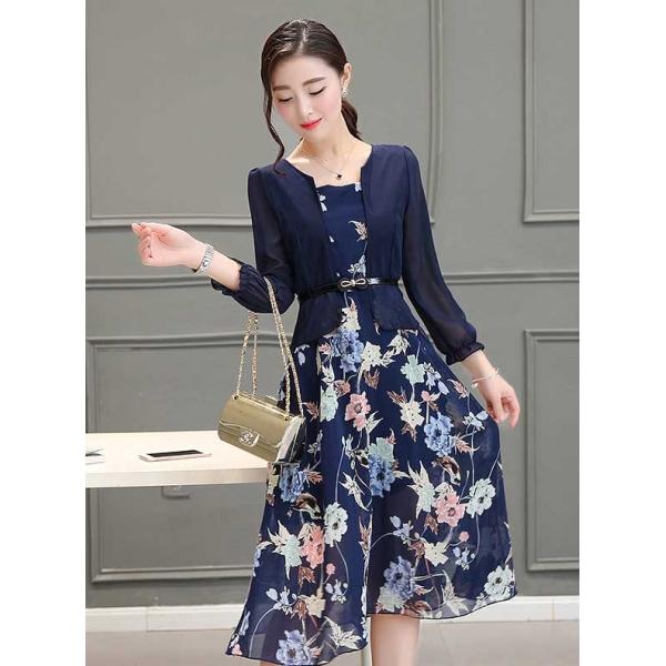 Midi Dress Korea D3207 Moro Fashion