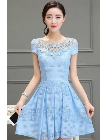 dress korea D3214