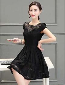 dress korea D3215