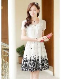 dress wanita import D3228
