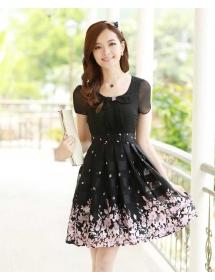 dress wanita import D3229