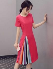 dress wanita import D3235