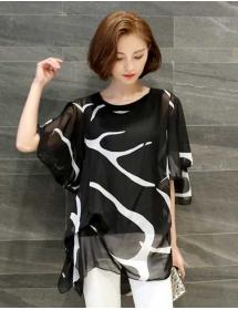 blouse wanita import T3108
