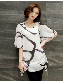 blouse wanita import T3109