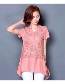 blouse wanita korea T3119