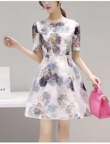 dress korea D3252