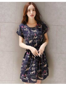 dress wanita import D3258