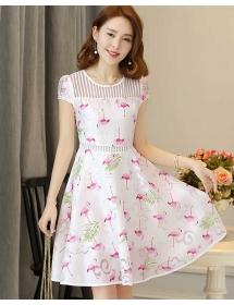 dress wanita korea D3263