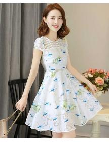 dress wanita korea D3264
