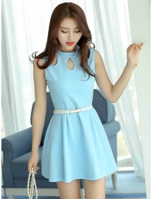 dress wanita import D3266