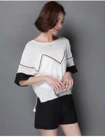blouse korea T3126