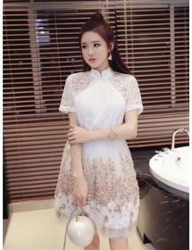 dress korea D3271