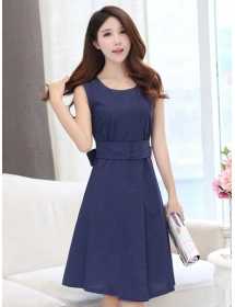 dress wanita import D3275