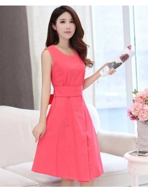 dress wanita import D3276