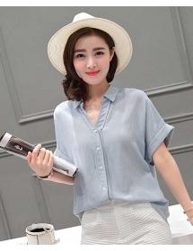 kemeja wanita import T3137