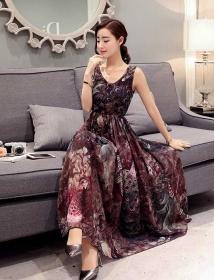 long dress import D3298