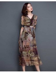 long dress korea D3300