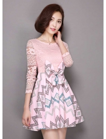 dress korea D3302
