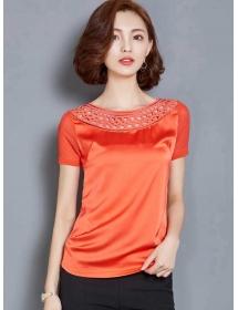 blouse wanita korea T3141