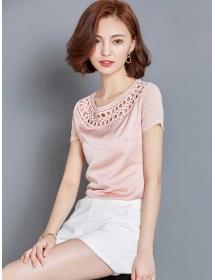 blouse wanita korea T3144