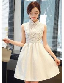 dress pesta D3315