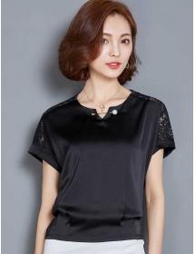 blouse wanita korea T3154