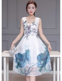 dress wanita import D3326