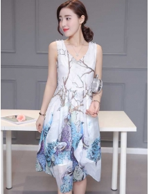 dress wanita import D3328