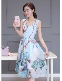 dress wanita import D3329