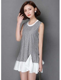 dress wanita import D3337