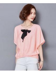 blouse wanita korea T3167